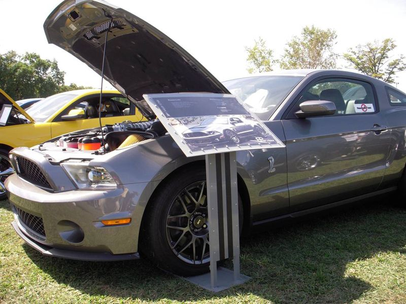 Car Show Info Display Stand CorvetteForum Chevrolet Corvette - Car show wheel display stands
